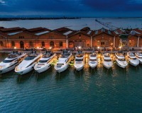 Venice Boat Show and Biennale at the Arsenale